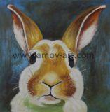 ホーム装飾のための卸し売り装飾的なウサギのキャンバスの絵画