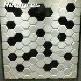 Innenarchitektur-Wohnzimmer-Dekor-Hexagon-Porzellan-Fußboden-Fliese