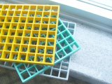 La reja de FRP GRP, fibra de vidrio moldeó la reja con cerrado fuertemente