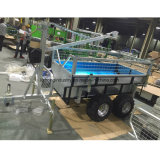 Het roterende Hout van de Aanhangwagen van de Capaciteit van de Lading van de Boom 1.5t ATV, Aanhangwagen ATV met de Aanhangwagen van het Nut Craneatv