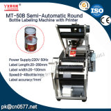 Máquina de etiquetado semiautomática de la botella redonda para los cosméticos (MT-50B)