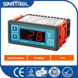 O controlador de temperatura cinza digital para o chiller