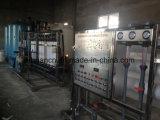 Het Zuiverende Systeem van het Water van de Omgekeerde Osmose van het roestvrij staal 1000L/Hour