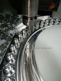Parte que trabaja a máquina no estándar, pieza que muele de la precisión del CNC, pieza del CNC