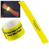 Schiocco sul Wristband riflettente con il marchio ed il colore dell'OEM