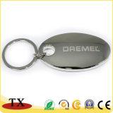 チャーミングな楕円および丸型の金属亜鉛合金Keychain