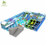Высокая производительность прыжком кровать прямоугольные Trampolines индивидуальные батут парк оборудования