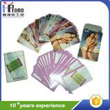 Oferta promocional personalizado papel as cartas de jogar poker