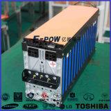 paquete de la batería de ion de litio del alto rendimiento 62.3kwh para el vehículo de EV/Hev/Phev/Erev/Logistics
