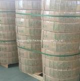 embalagem de linho do poliéster verde do rolo 75kg enorme