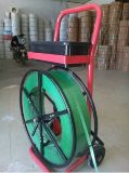 Atar con correa el carro del dispensador con Soild flexible Wheel