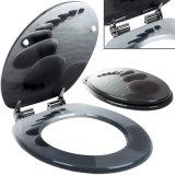 Asiento de tocador suave de los accesorios de Baathroom con el sistema del desbloquear rápido