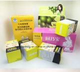 Het Vakje van het Groenboek van de Kleur van de douane voor de Verpakking van het Product met Populair Gebruikt in de Winkel (JP-papier box126)