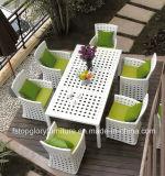 Обедающ напольная мебель с таблицей и стулами (TG-1609)