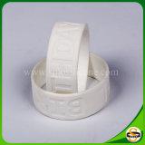 Wristband su ordinazione del silicone di marchio di Debossed di modo per attività