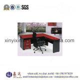 Таблица офиса менеджера L-Формы офисной мебели меламина просто (1329#)