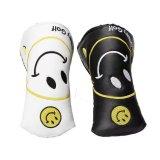 Qualitäts-kundenspezifisches Firmenzeichen-Stickerei-Putter-Golfclub-Deckel-Leder Headcover