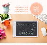La escritura de 10 pulgadas LCD Tablet tabletas gráficas E-escritor de electrodos de escritura a mano