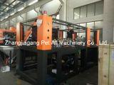 Durchbrennenmaschine der halbautomatischen Flaschen-9cavities für die Herstellung der Plastikdose