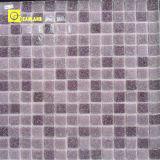 Mosaico di pietra per colore bianco di cristallo di superficie lucido (MC206)