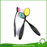 Schönheits-Pinsel bilden im Silikon-Verfassungs-Pinsel-Zahnbürste-Form-Kosmetik-Pinsel