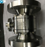 Lever를 가진 BS5351 Forged Stainless Steel Side Entry Double Block와 Bleed Flanged Floating Ball Valve