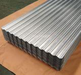 L'aluminium recouvert de zinc métal ondulé de toiture Galvalume Panneau mural