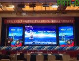 Écran LED haute résolution avec Pixel 3,91 mm pour l'étape intérieure Contexte