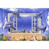 suelo de cerámica grabado el 120*180cm del azulejo Polished superficial 3D