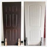 木製のドアが写真を設計するチークは販売のために外部ドアを使用した