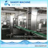 Máquina monobloque que capsula de relleno que se lava del agua potable purificada y del agua mineral