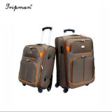 Sacchetto materiale ambientale della valigia con i bagagli del carrello delle 4 rotelle