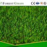 Forme en U de qualité supérieure du paysage avec gazon artificiel PU L'appui