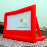 Надувные адаптированные для использования вне помещений на экране видео/дешевые надувные экраны проектора продажи