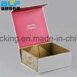 Пользовательский магнитный фальцовки печати подарок картонная коробка / складные Подарочная упаковка