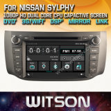 닛산 Sylphy 2012를 위한 Witson Windows Touch Screen Car DVD 2014년 호주 Version