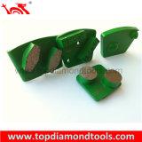 Умеренная цена и плиты трапецоида устоичивого диаманта качества меля для конкретного пола