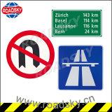 Verkeersteken van de Veiligheid van de Band van het Aluminium van de waarschuwing de Weerspiegelende