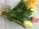 I mazzi reali del fiore della seta artificiale di tocco si dirigono la decorazione di cerimonia nuziale del partito