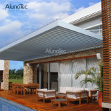 현대 알루미늄 집 디자인 일요일 그늘 미늘창 지붕