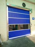 La superficie de la posición de Acabados industriales de PVC de alta velocidad del obturador puertas