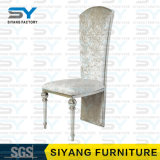 Hotel-Gaststätte-Möbel-moderner Stuhl-Luxuxmetallstuhl, der Stuhl speist