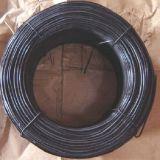 O preto galvanizou o fio recozido do laço