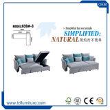 Spät billig neues Entwurfs-Wohnzimmer-Möbel-Sofa-Bett