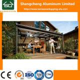 GlasSunroom mit Aluminiumrahmen und Schiebetür