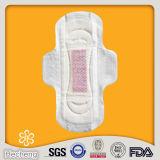Kundenspezifische gesundheitliche Servietten der Baumwolldame-Anion mit hoher Absorbierfähigkeit