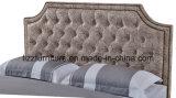 Klassischer Schlafzimmer-Set-König Size Bed mit hölzernem Rahmen