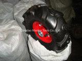 La Cina 4.00-8 rotelle di gomma Herringbone per la rotella della riga della barra
