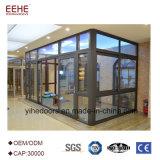 판매 Prefabricated 일광실 유리 집을%s 유리제 정원 룸