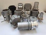 En aluminium/acier inoxydable/PP/raccord camlock /l'Accouplement en laiton/pièces de soupape